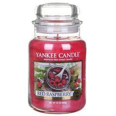 Ароматическая свеча Yankee candle большая Красная малина 623 г
