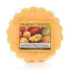 Ароматическая свеча-тарталетка Yankee candle Соус из манго и персика 22 г