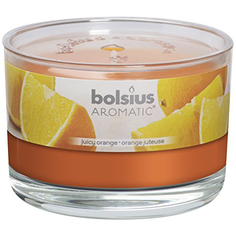 Свеча аромат в банке 63/90 апельсин Bolsius