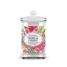 Свеча ароматическая BAGO home Тропический сад 14.5 см