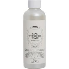 Тоник для лица Chamos Acaci Антивозрастной против морщин с улиточным экстрактом 200 мл