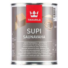 Защитный воск для саун Tikkutila супи саунаваха 0.9 л Тиккурила Ой