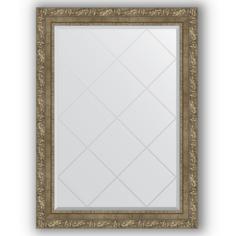 Зеркало в багетной раме Evoform античная латунь 75x102 см