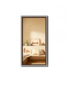 Зеркало в багетной раме Gallery 31х61 см серебро