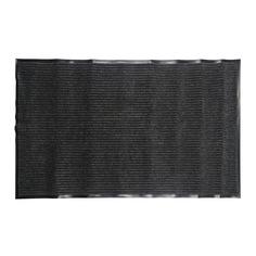 Коврик придверный влаговпитывающий на пвх ребро 3:2 серый 90x150см Lider Лидер