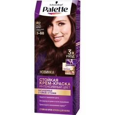 Крем-краска для волос Palette Интенсивный цвет 3-68, R2 Красное дерево 110 мл