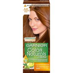 Крем-краска для волос Garnier Color Naturals 6.41 Страстный янтарь 110 мл