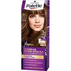 Крем-краска для волос Palette Интенсивный цвет 5-5, G4 Какао 110 мл
