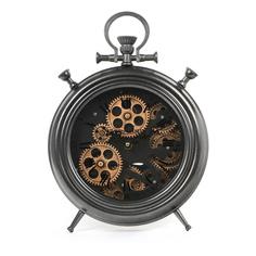 Часы настольные Bizotto Deco Engrenage 28 см