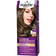 Краска для волос Palette Интенсивный цвет C6 Холодный средне-русый 110 мл