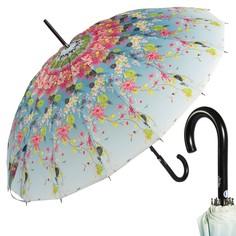 Зонт-трость Jean Paul Gaultier 1128-LM Kimono Blu