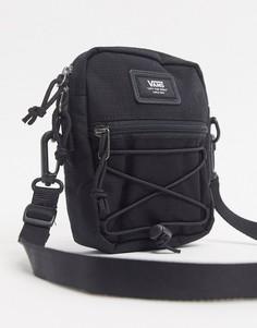 Черная сумка на плечо из ткани рипстоп Vans-Черный