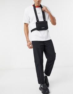 Черная сумка на плечо с логотипом Nicce-Черный
