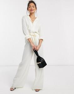 Эксклюзивная свободная рубашка кремового цвета In The Style-Кремовый