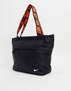 Черная сумка-тоут Nike-Черный