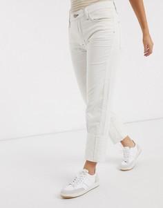 Белые вельветовые брюки MiH Jeans-Белый