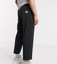 Широкие строгие брюки Reclaimed vintage-Черный