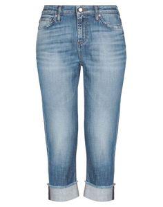 Джинсовые брюки-капри DON THE Fuller
