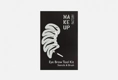 Набор трафаретов для бровей Make UP Factory