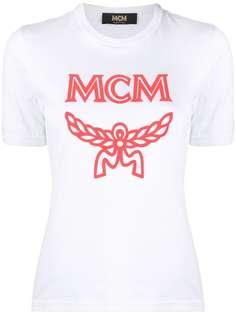 MCM футболка с логотипом