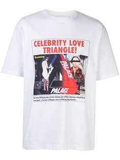 Palace футболка с принтом
