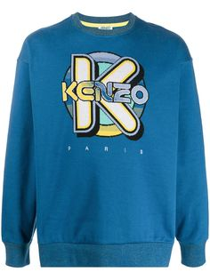 Kenzo толстовка с логотипом