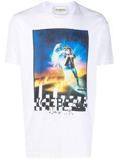 Iceberg футболка с графичным принтом