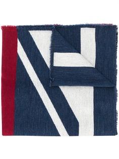Paul Smith объемный шарф в полоску