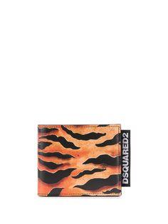 Dsquared2 кошелек с тигровым принтом