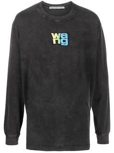 Alexander Wang long sleeve washed-effect sweater