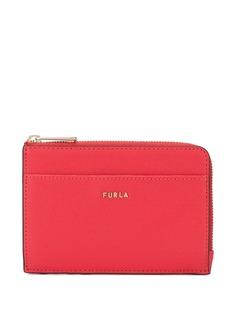 Furla кошелек на молнии с металлическим логотипом