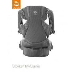 Рюкзак-переноска Stokke MyCarrier 3 в 1 Marina Mesh Grey Mesh, серый