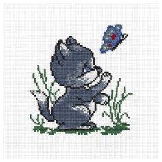 PANNA Набор для вышивания Котик