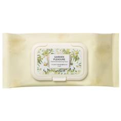 The Saem салфетки очищающие Garden Pleasure Chamomile Cleansing Tissue, 100 шт.