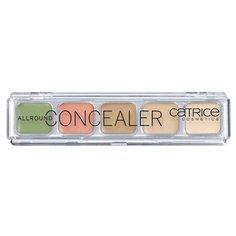 CATRICE Консилер Allround Concealer, оттенок бежевый/ розовый/ зеленый