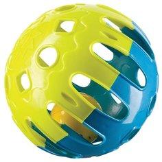 Погремушка Happy Baby Jingle Ball желтый/синий