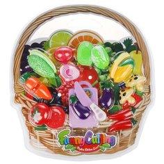Набор продуктов с посудой Наша игрушка Овощи NF357-L4 в ассортименте