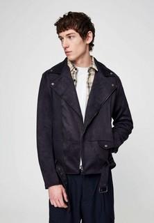 Куртка кожаная Pull&Bear
