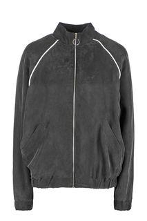 Легкая серая куртка на молнии Endorphine