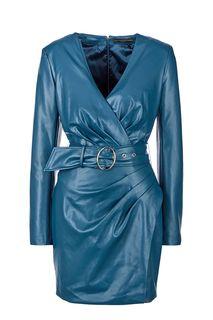 Короткое бирюзовое платье Guess