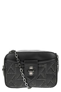Маленькая кожаная сумка через плечо Karl Lagerfeld