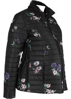 Куртка с цветочным принтом для беременных Bonprix