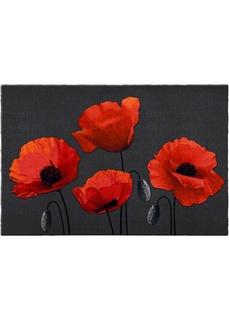 Придверный коврик с цветочным рисунком Bonprix