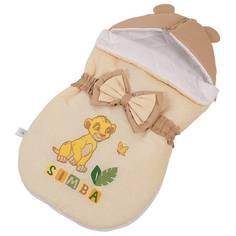 Конверт демисезонный Polini kids Disney baby Король Лев, бежевый