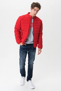 Куртка мужская GUESS JEANS M93L23WBS90TLRD красная XL