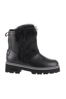 Ботинки женские Baldinini O1092 черные 37.5 RU