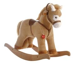 Мягкая игрушка Trudi Лошадка-качалка (бежевая)