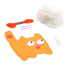 Набор для творчества Bondibon мк игрушка из фетра. кот