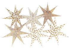 Набор декоративных елочных украшений Stars, 6 шт. Enjoyme