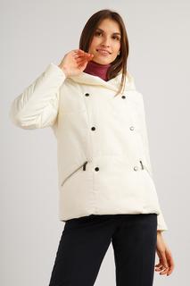 Куртка женская Finn Flare B19-11022 бежевая M
